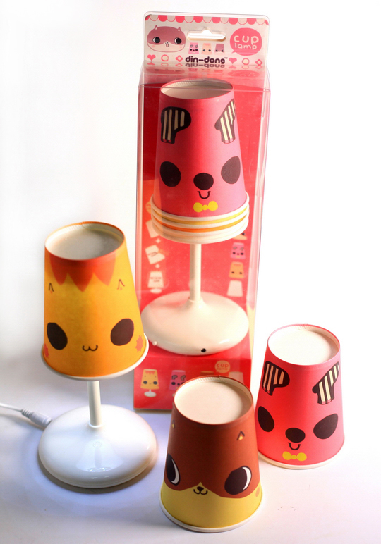 dindong cup lamp